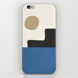 abstract minimal 30 iPhone Skin