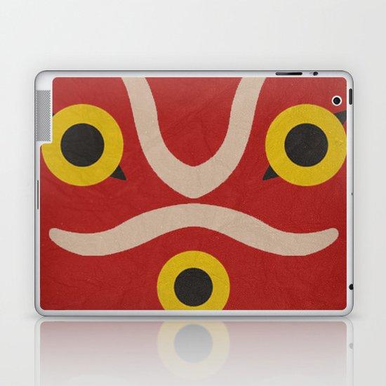 Princess Mononke Minimalist Poster Laptop & iPad Skin