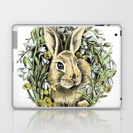 Spring rabbit Laptop & iPad Skin