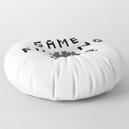 Game F*cking Over Floor Pillow