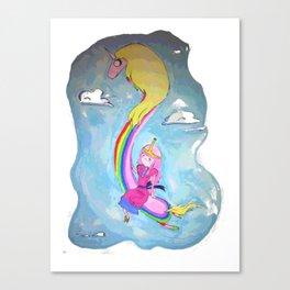 Lady & The Princess Canvas Print