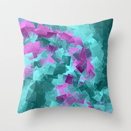 little sqares and rectangles pattern -4- Throw Pillow
