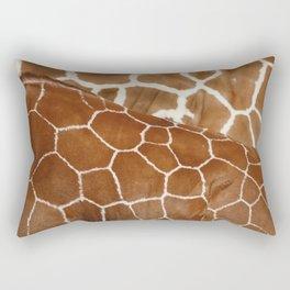 Giraffe Design Illustration Background Rectangular Pillow