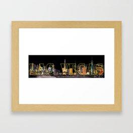 Las Vegas Framed Art Print