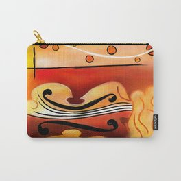 Vioselinna - violin backed beauty Carry-All Pouch