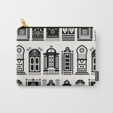 Moroccan Doors – Black Palette Carry-All Pouch