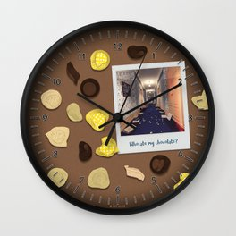Who ate my chocolate? Wall Clock