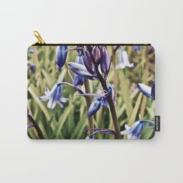 Bluebells, Magical Flowers Of Spells Carry-All Pouch