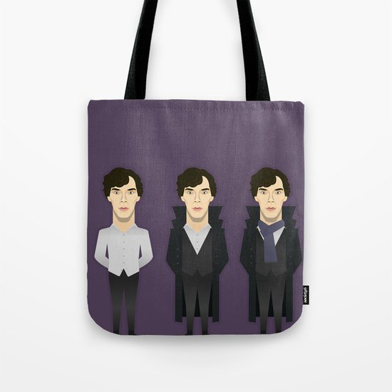 Watching The Detectives #2: Landscape Tote Bag