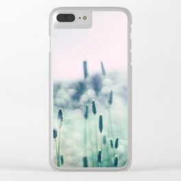 Dreamy Fields of Grass Clear iPhone Case