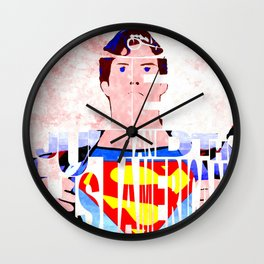 Truth Justice and the American Way Wall Clock