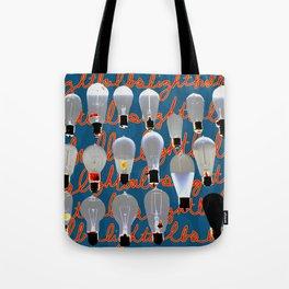 Lightbulbs Tote Bag