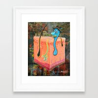 thegnarledbranch Framed Art Prints featuring Right Before Prom by TheGnarledBranch
