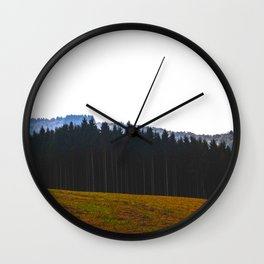 The Forest Calls Wall Clock