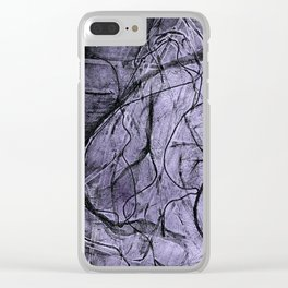 Etching _Visualising the inner self. Clear iPhone Case