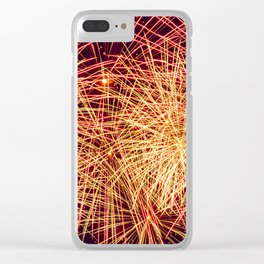 Art of the Fireworks Clear iPhone Case
