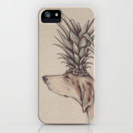 pineapple head iPhone Case