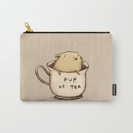 Pup of Tea Carry-All Pouch
