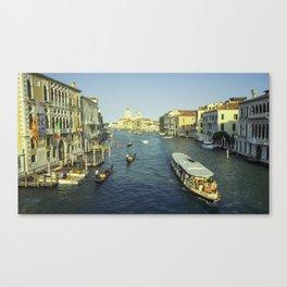 Venitian Water Taxi Canvas Print