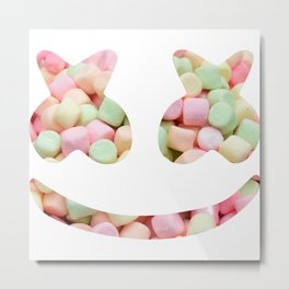 Mello Marshmallow Metal Print