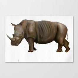Rhinoceros I Canvas Print
