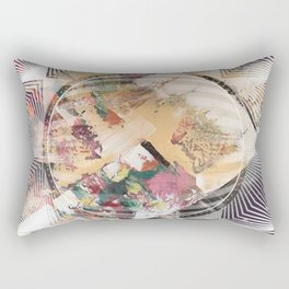 Brown - 3D Rectangular Pillow
