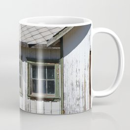 Old Shed and Barbed Wire Fort Stanton New Mexico Coffee Mug