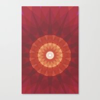 kaleidoscope Canvas Prints featuring kaleidoscope by UiNi