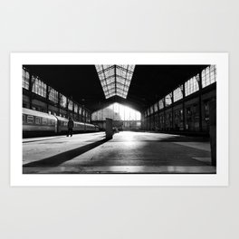 Last Train Home Art Print