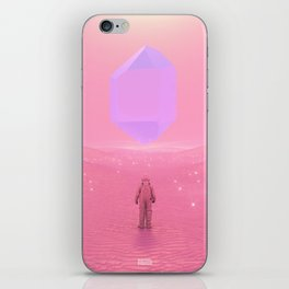Lost Astronaut Series #03 - Floating Crystal iPhone Skin