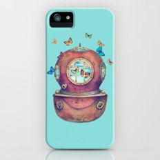 Inner Space - colour option iPhone (5, 5s) Slim Case