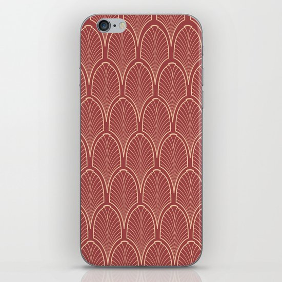 Art deco pattern iPhone & iPod Skin