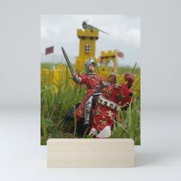 Castle under siege Mini Art Print