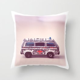 Ambulance Throw Pillow