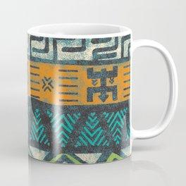 Grunge african pattern Coffee Mug