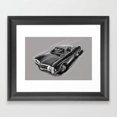 Impala Framed Art Print