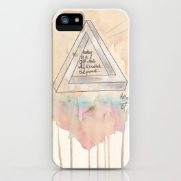 TODAY. iPhone Case