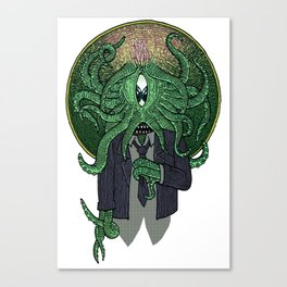 Eye of Cthulhu Canvas Print