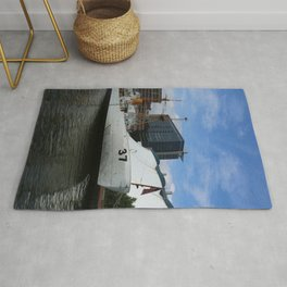 Coast Guard Cutter Taney Baltimore Harbor Rug