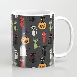 Halloween Cats Coffee Mug