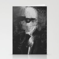 karl lagerfeld Stationery Cards featuring Karl Lagerfeld Star Futurism Limited by Futurism_