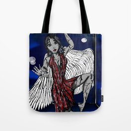 Broken and Trapped in this Life Tote Bag