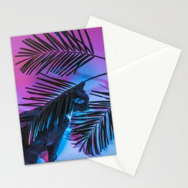 Favorite Things: My Cat and Palm Trees Stationery Cards