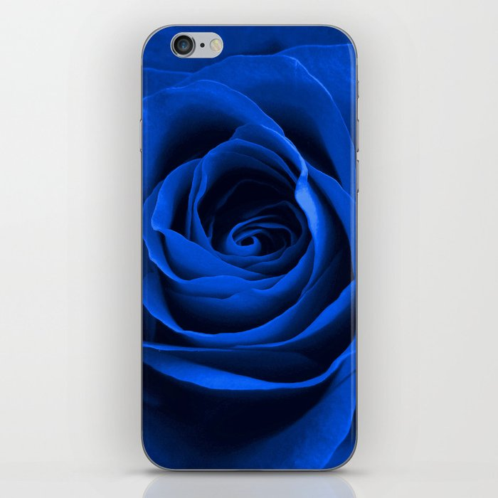 Blue Rose iPhone Skin
