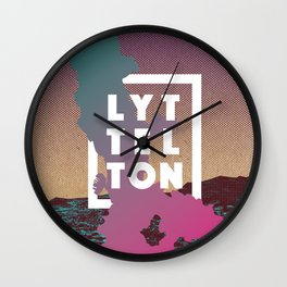 Happy Lyttelton Kraft Wall Clock