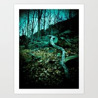 snake Art Prints featuring Snake by Terrestre