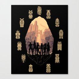 Zodiac Age Canvas Print