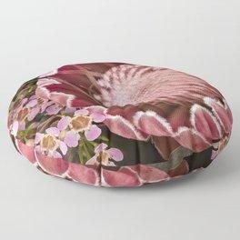 Macro Protea Floor Pillow