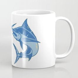 Sailfish is one of the most hardest fishes to catch Coffee Mug