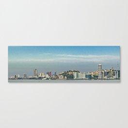 Guayaquil Panoramic Cityscape Skiline, Ecuador Canvas Print